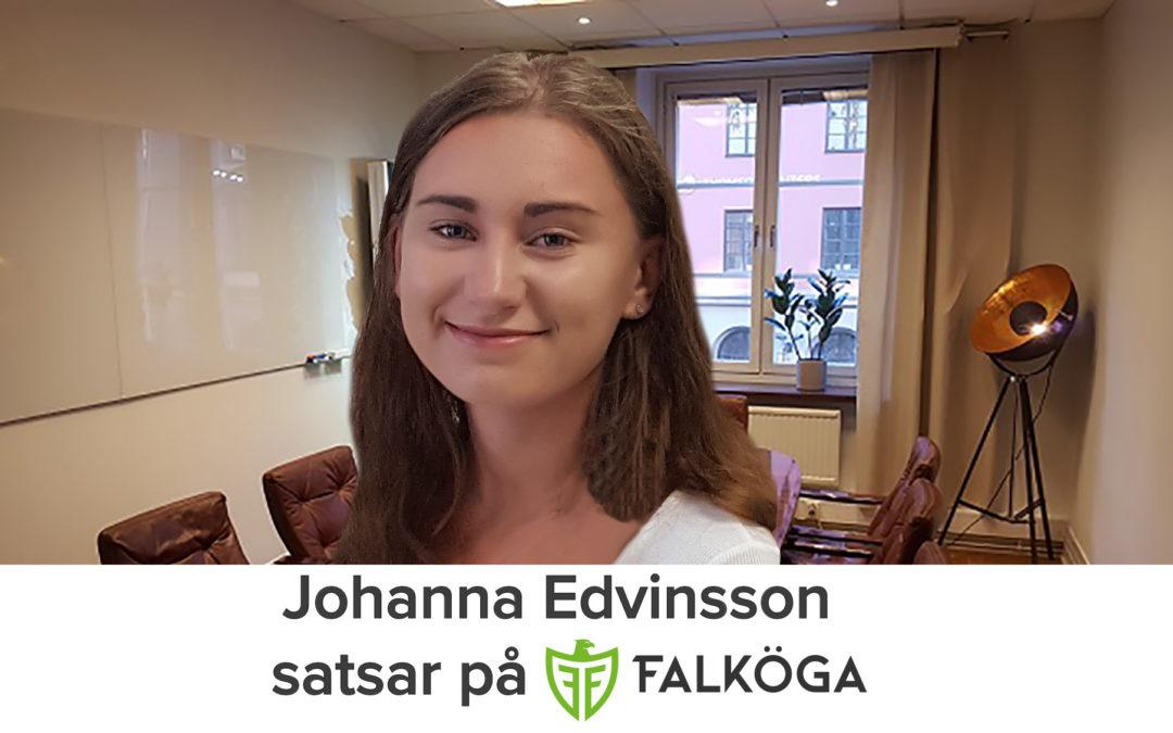 Falköga Redovisnings andra rekrytering – Välkommen Johanna Edvinsson
