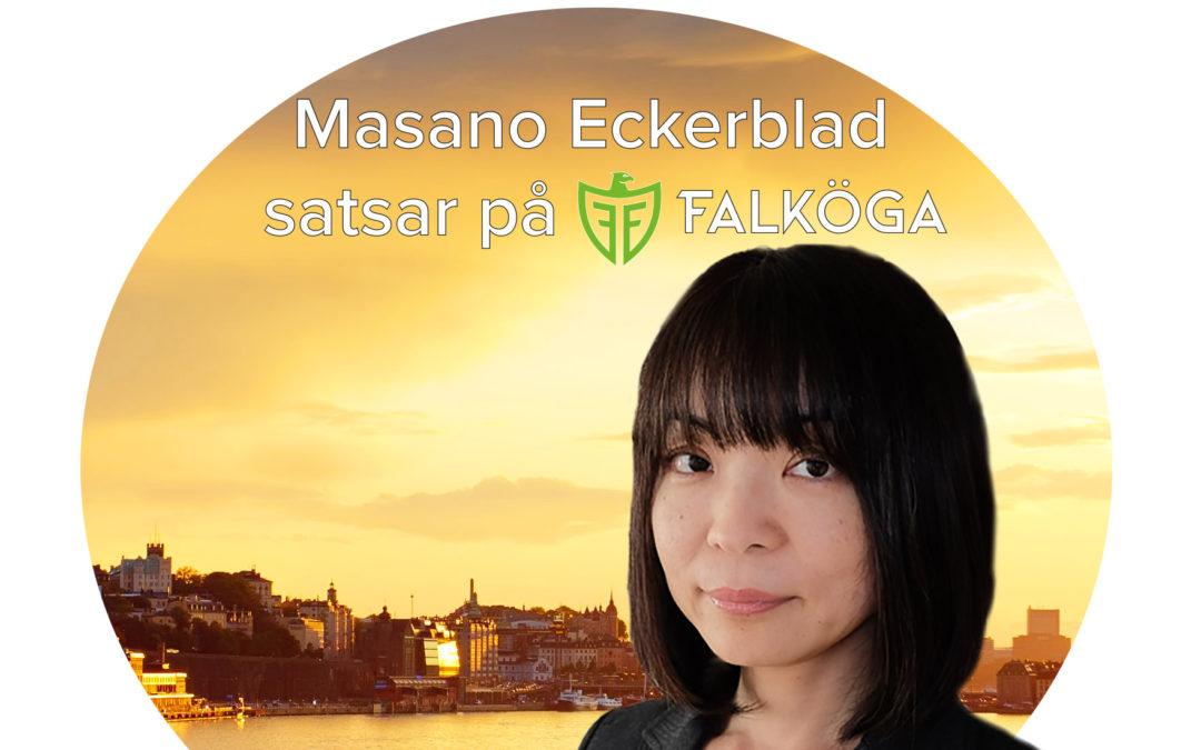 Falköga har rekryterat – Masano Eckerblad satsar på Falköga