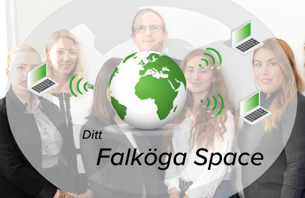 Falköga Redovisning utmanar branschen -presenterar den nytänkande kommunikationsplattformen Falkwebben